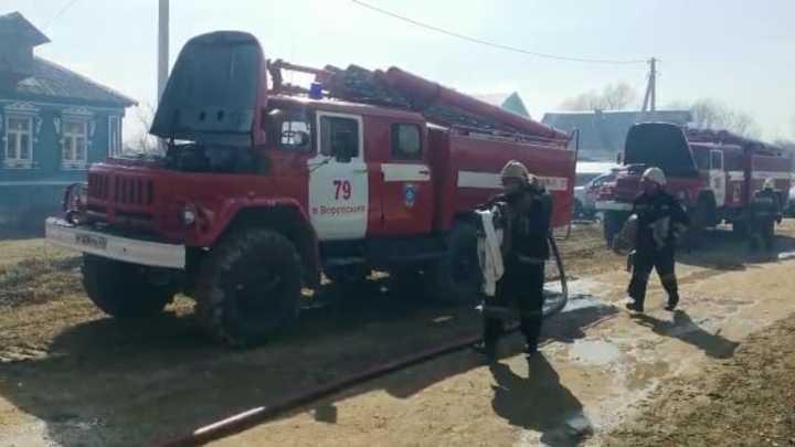 В сгоревших домах деревни Першково жили три человека