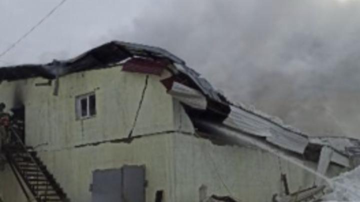Пожар на улице Дальневосточной в Самаре не обошелся без жертвы