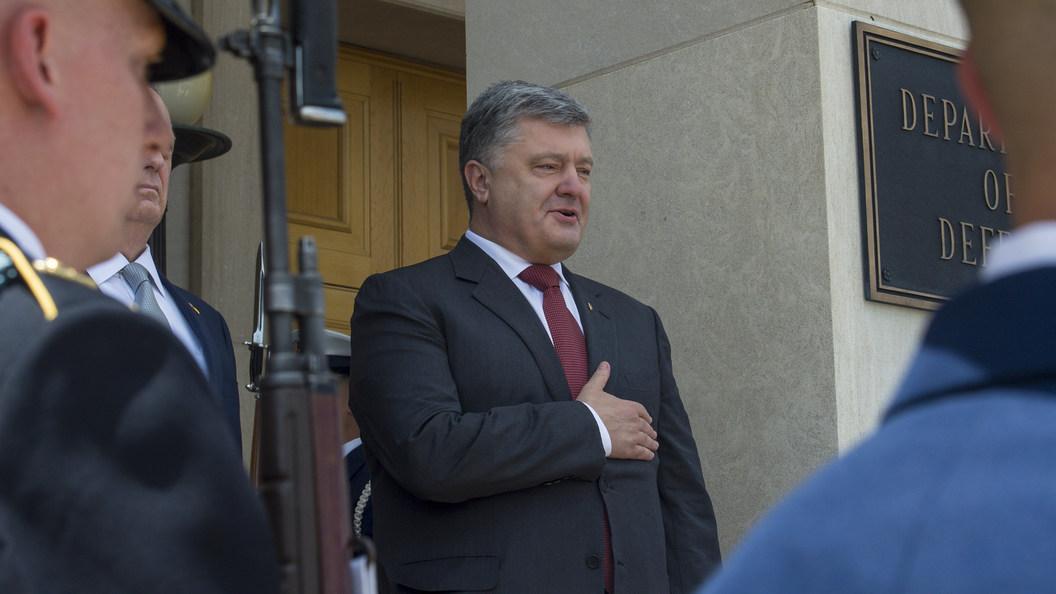 США разочаровались в Порошенко и назначили представителя на Украине