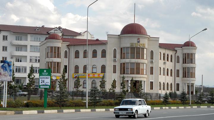В ингушской Сунже разворачивается боестолкновение: Город на специальном режиме
