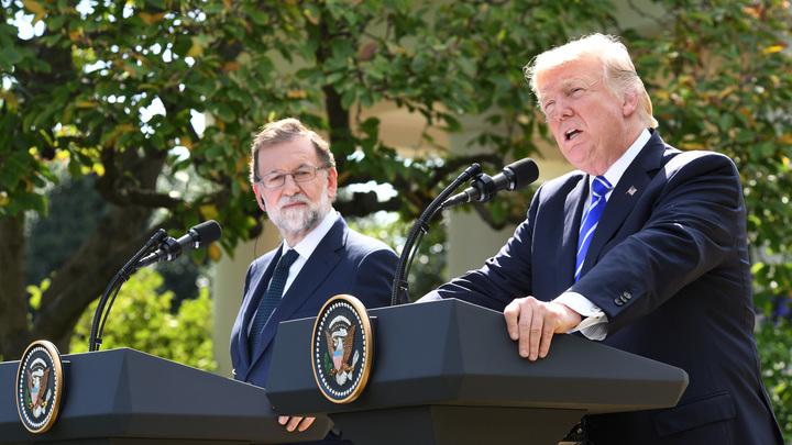 Беспрезидентно: Трампа высмеяли из-за двойки по политической географии