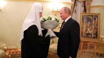 Жители России сплотились воедино: Патриарх Кирилл поздравил Путина с победой