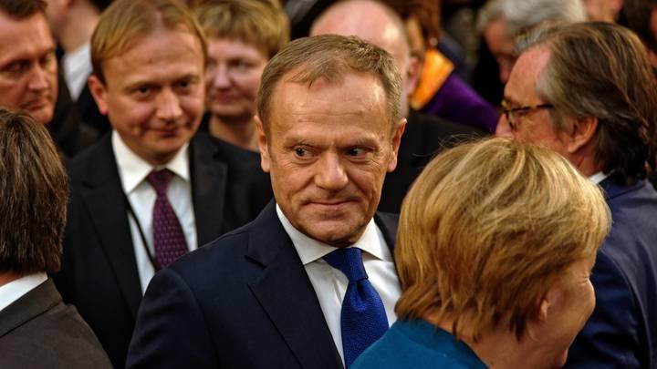 Моё послание Мэй ясно: Глава Евросовета отказал Лондону в пересмотре условий Brexit