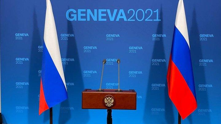 Перед встречей с Байденом: Опубликовано видео из лайнера Путина