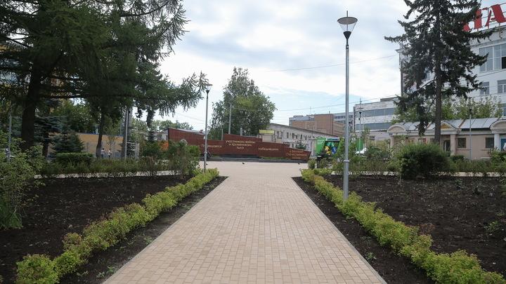 В двух районах Нижнего Новгорода открыли три сквера