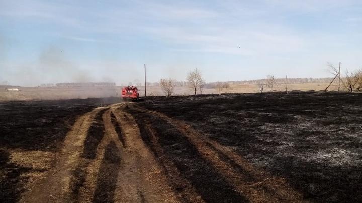 Замгубернатора Сергей Сёмка: ситуация с пожарами в регионе на особом контроле областных властей