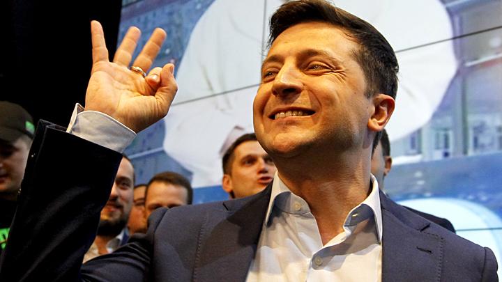 «Новый бычок для телеги без колёс»: В соцсетях обсуждают победу Зеленского на выборах в Украине