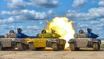 Военная олимпиада: Соревнования по танковому биатлону