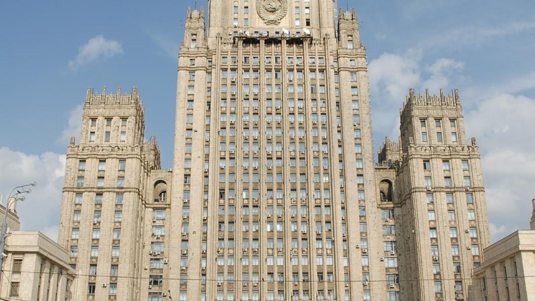 Послу Молдавии вручили ноту протеста всвязи сзапретами на заезд россиянам