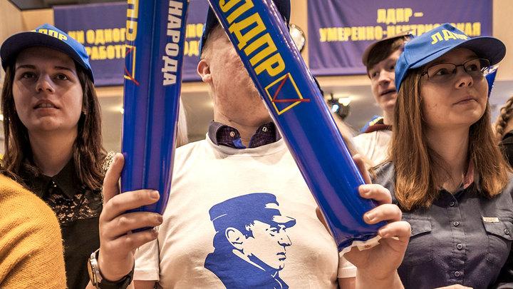 Песни, танцы и надувные палки: Последняя агитация Жириновского