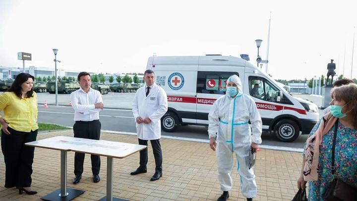 Губернатор Андрей Воробьев допустил введение новых ограничений в Подмосковье