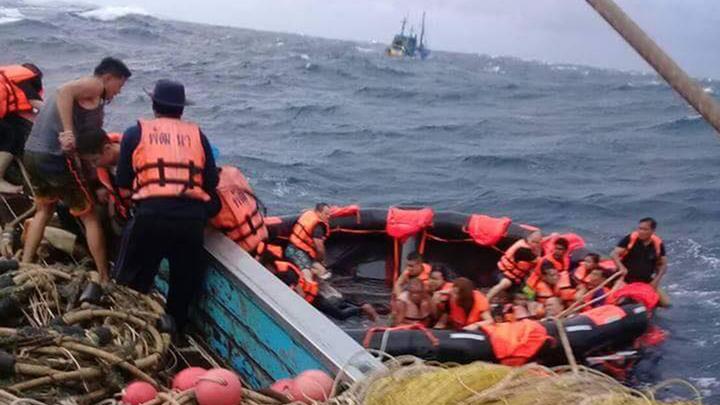 На известном тайском курорте при крушении судна погибли более 40 туристов