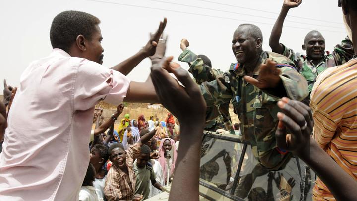 Новая власть Судана обратилась к России со словами благодарности