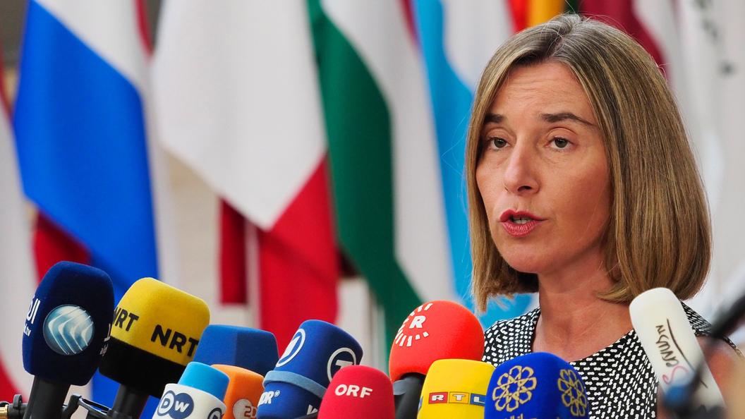 Могерини заявила о готовности ЕС наводить мосты с Россией