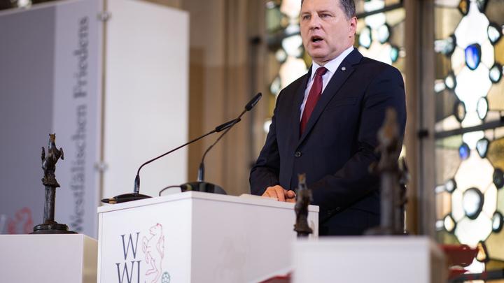 Президент Латвии нашел выгоду Российской Федерации отавиаудара НАТО вЭстонии