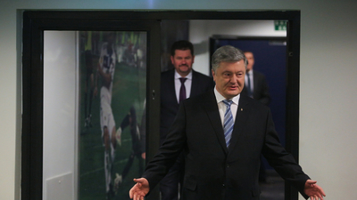 Был бы намного честнее: Коротченко предложил Порошенко символичный плакат вместо билборда с Путиным
