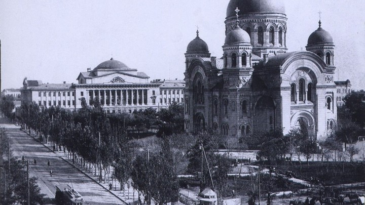 В Ростове возведут точную копию уничтоженного в 1930-м собора Александра Невского