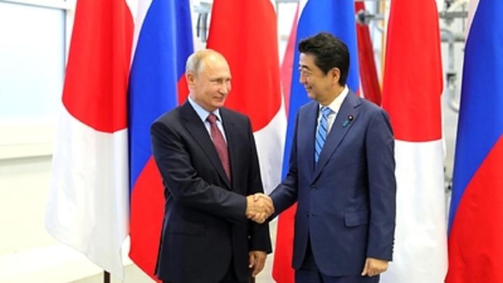 Япония вернется к предложению Путина по мирному договору - СМИ