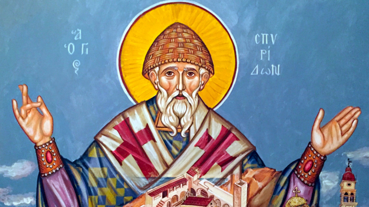 Святитель Спиридон Тримифунтский. Православный календарь на 25 декабря