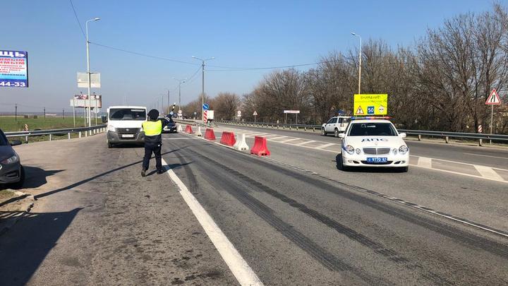 Карантинные посты на въездах в Ростов уберут: полицейских отправят ловить нарушителей масочного режима