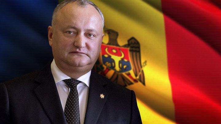 Игорь Додон: Молдавию толкают к гражданской войне