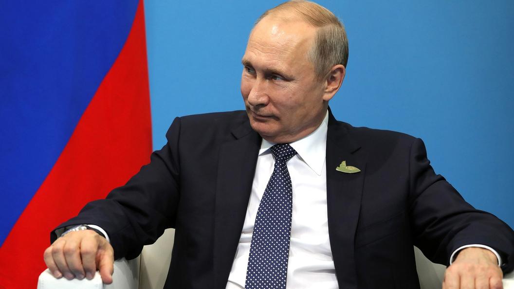 Путин в Карелии опробовал стрессовый браслет