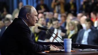 Большая пресс-конференция Владимира Путина-2019. Онлайн-трансляция