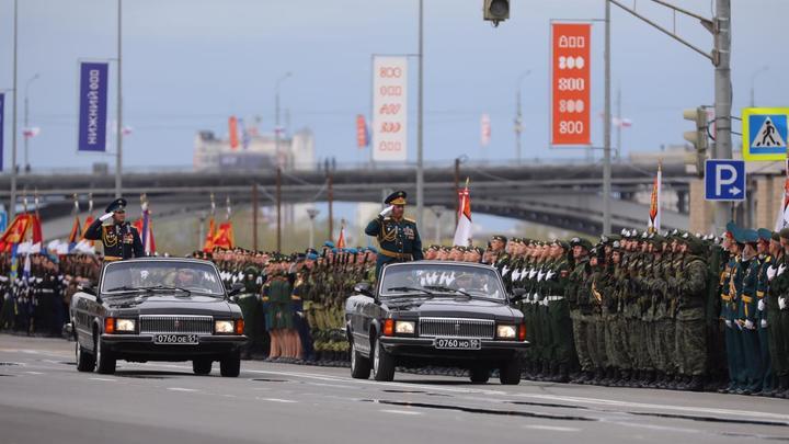 Парад Победы 9 мая 2021 года в Нижнем Новгороде: онлайн-трансляция