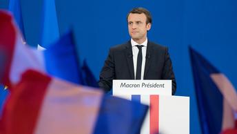 Макрон становится президентом Франции