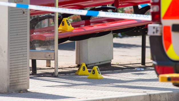 В центре Лондона автомобиль врезался в остановку, четверо пострадали