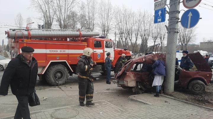 В ДТП на левом берегу в Новосибирске погибла пожилая пара
