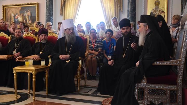 Иерусалимский патриарх: Щупальца глобализации пробуют сломать Православную церковь