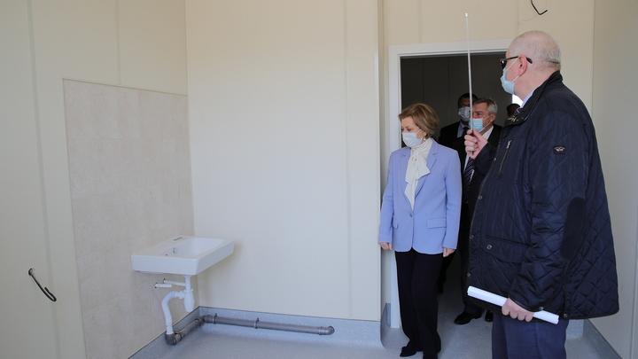 Глава Роспотребнадзора оценила строительство золотой инфекционной больницы в Ростове: Уникально