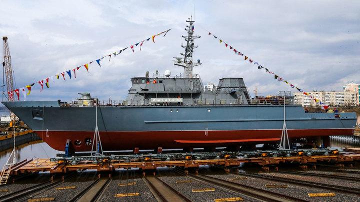 Новый пластмассовый корабль скоро украсит ряды ВМФ России
