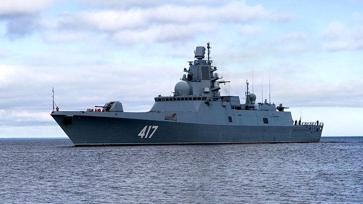 «Адмирал Горшков» обеспечит безопасность от… США. Символически