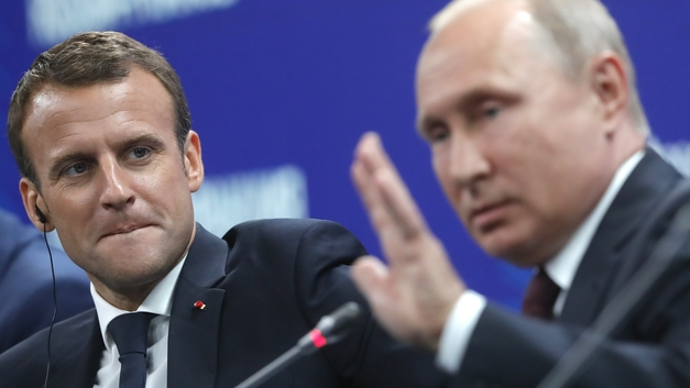Путин встретится с Макроном на фоне финала ЧМ