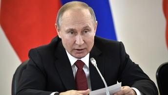 Неравнодушный житель Новосибирска устроил лазерное шоу по случаю визита Путина