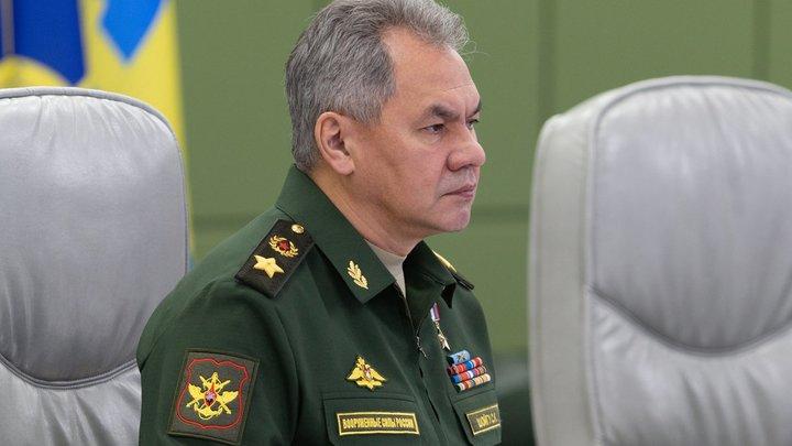 Не употребляю сам вообще: Шойгу рассказал о сухом законе в Минобороны России