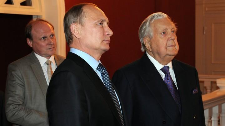 Путин выразил соболезнования в связи со смертью великого художника Глазунова