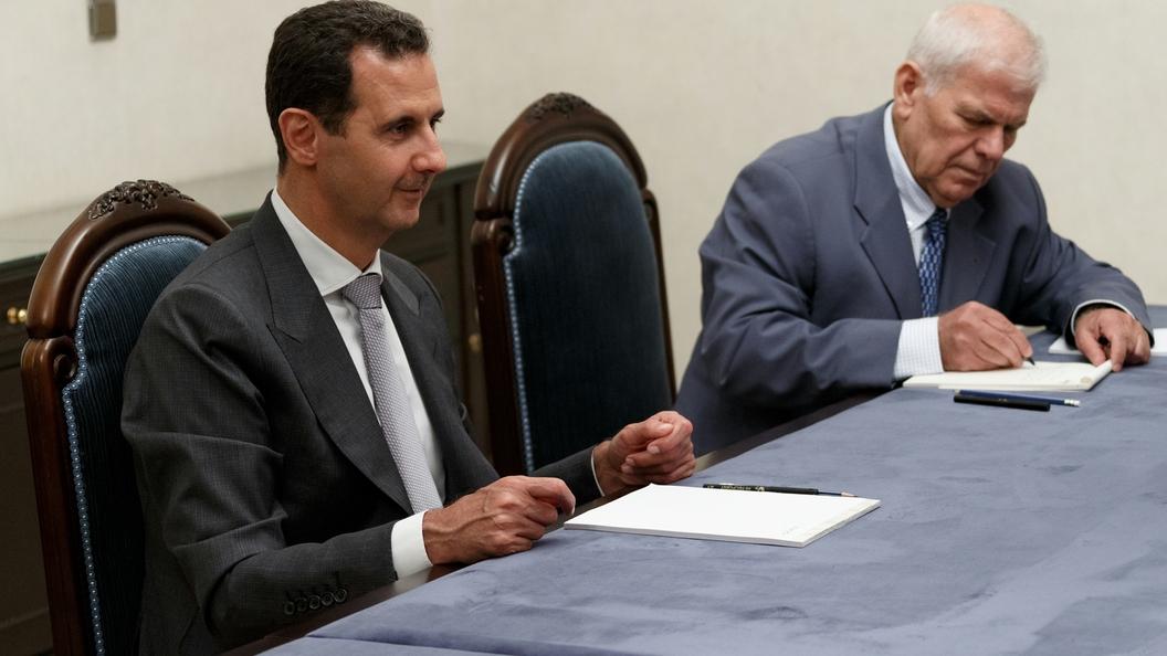 Президент Сирии назвал Эрдогана политическим нищим