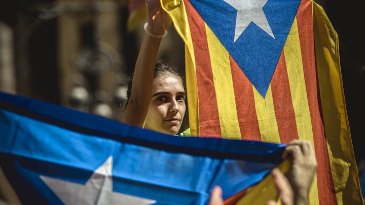 Испания заподозрила Россию во влиянии на Каталонию