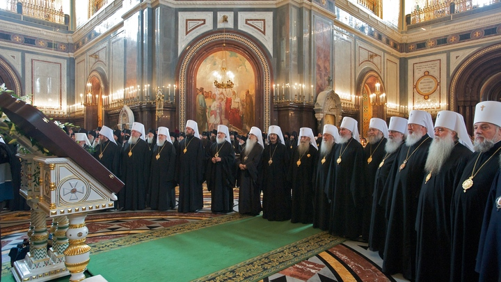Архиерейский собор прославил Глинских старцев