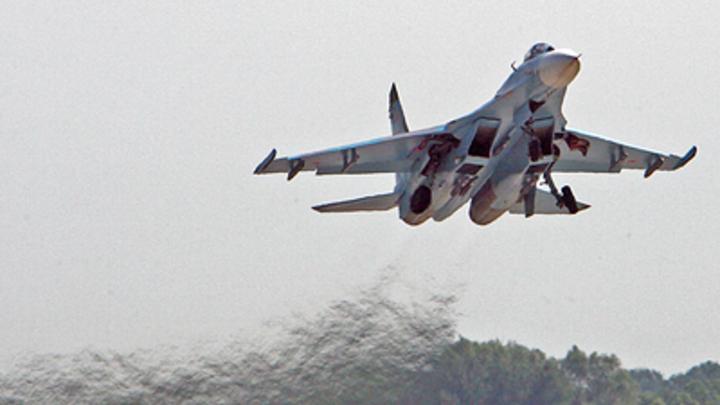 Британские ВВС оконфузились перед русскими над Чёрным морем: Су-27 не дал и шанса