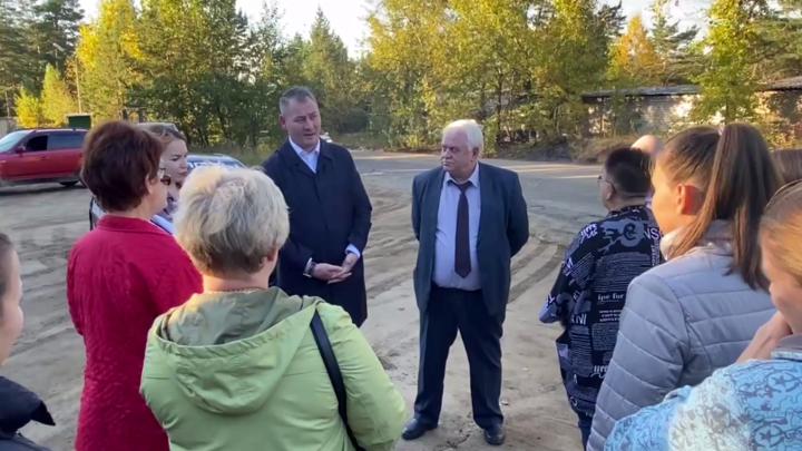 Сити-менеджер Читы обсудил с жителями посёлка Ясный работу маршрута №35