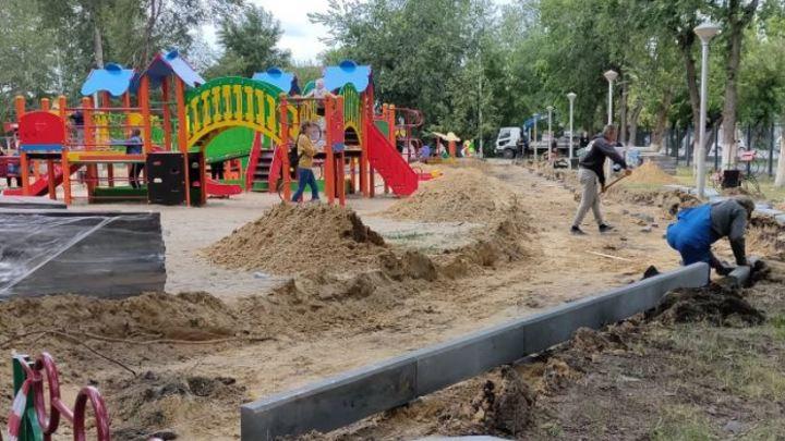 В Кургане Детский парк отремонтируют и украсят сказочными героями