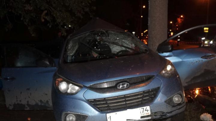 В ночь на 1 августа в Челябинске два человека погибли в ДТП, пострадал ребёнок