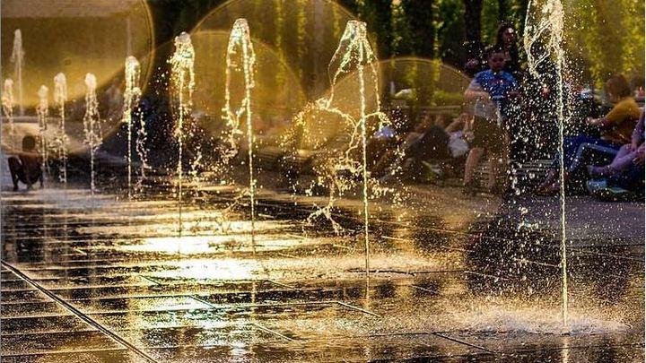 Жителей и гостей Краснодара просят не купаться в фонтанах парка Галицкого