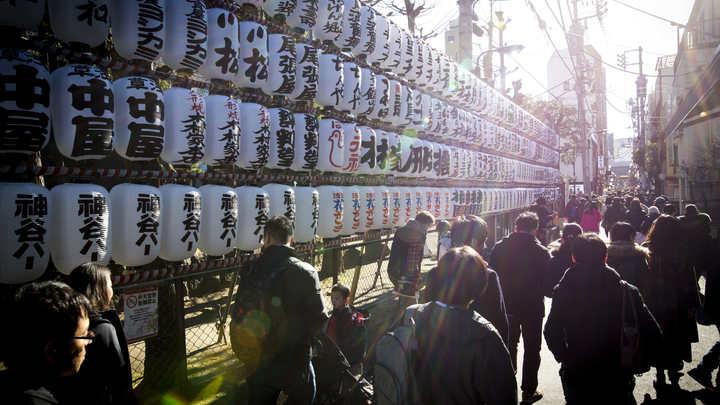 Впечатленные корейским кризисом японцы избрали символом 2017 года иероглиф Север