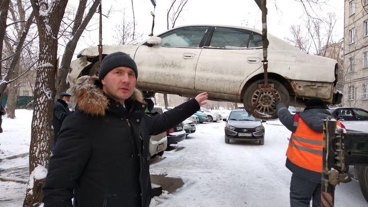 В Челябинске началась массовая эвакуация брошенных автомобилей: куда обращаться