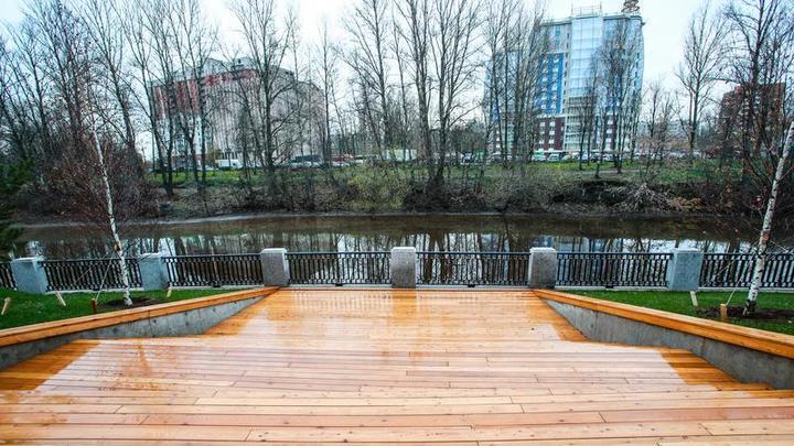 В Красногвардейском районе Санкт-Петербурга появилось новое общественное пространство
